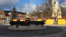 Vianočný stromček v Brezne