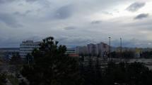 Zamračené počasie v Košiciach