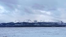 Ranné sneženie Vysoké Tatry dnes