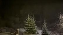 Nočné sneženie