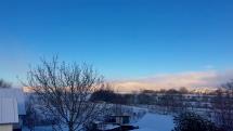 Snehová nádielka v Plechoticiach
