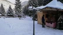 Kováč na snehu, Čutkovo, Ružomberok