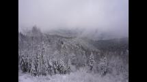 REGINA KOŠICE - Zimný výhľad z vrchu Žobrák (921 mnm, Čergovské pohorie, okr. Bardejov)