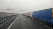Stávka kamionů Maďarsko - Slovensko