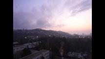 Bratislava pred východom slnka