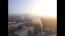 Ranné hmly v Bratislave