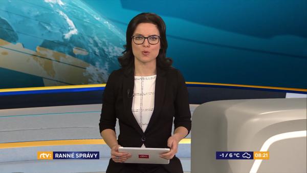 RTVS ODVYSIELALA ZÁBERY OD iREPORTÉROV V RANNÝCH SPRÁVACH