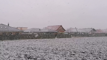Husté sneženie, Veľký Biel