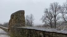 Ochladenie a sneženie v Levoči