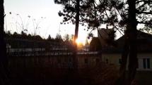 Východ slnka v Bardejov.kúpeľoch