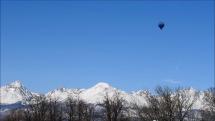 let balonov nad Tatrami