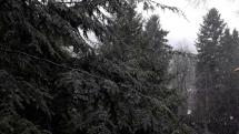 V Bardejovských kúpeľoch snežilo