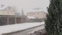 Snehová prehánka vo Svite