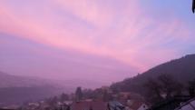 Dúhová obloha nad Pohronským Inovcom