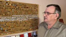 Zberateľ odznakov pán Ing. Fr. Hámor