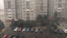 Smizany silný vietor 24.2.2020