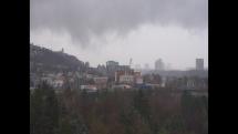 Upršané ráno v Bratislave