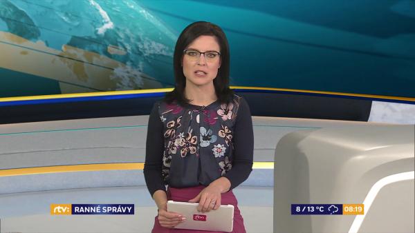 RTVS ODVYSIELALA ĎALŠIE ZÁBERY OD iREPORTÉROV V RANNÝCH SPRÁVACH