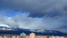 časozber oblačnosti - aj s dúhou nad Tatrami - 11.3.2020