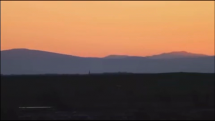 Východ slnka z Plechotíc