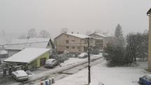 Dnešné sneženie Batizovce