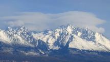 lentikulárna oblačnosť nad Tatrami - 26.3.2020