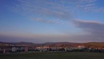 Oblačnosť nad Bardejovom