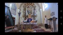 Živé prenosy omši z kostola