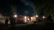 zásah hasičov v považskom chlmci