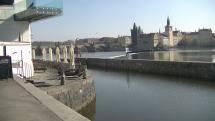 Dopoledne v Praze na Kampe