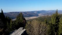Pohľad na dedinu Šumiac a Horehronie.