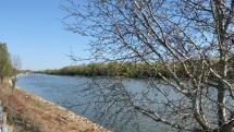 nízka hladina riek Váh a Dunaj