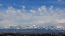 časozber oblačnosti nad Tatrami - 13.4.2020, okolo 11.oo hod.