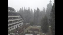 Sneženie v Tatranskej Kotline
