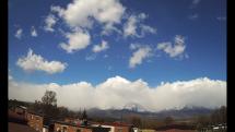 Snehová prehánka vo Vysokých Tatrách