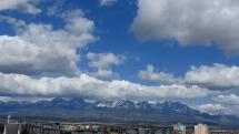 časozber oblačnosti nad Tatrami, 29.4.2020 okolo 11-tej hod.