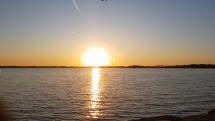 Západ Slnka nad Dunajom