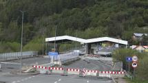 Uzavretý hraničný prechod Čirč-Leluchow
