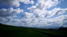 Dnešný časozber oblačnosti v okolí Partizánskeho = 24.05.2020