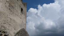 Panorama z Lietavskeho hradu