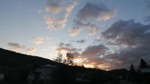 Západ slnka v Rokytovciach