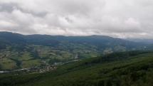 Pohľad na Pohronský Inovec