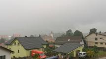 Dnešný dážď Batizovce