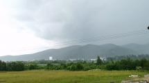 Prichádzajúca búrka do Svitu