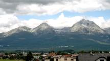 Vysoké Tatry dnes poobede