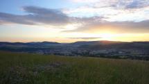 Východ slnka v Bardejove