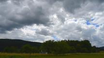 oblačnosť v okolí Podlesku, v Slovenskom raji