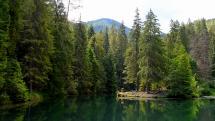jazero Blajzloch v Slovensko raji