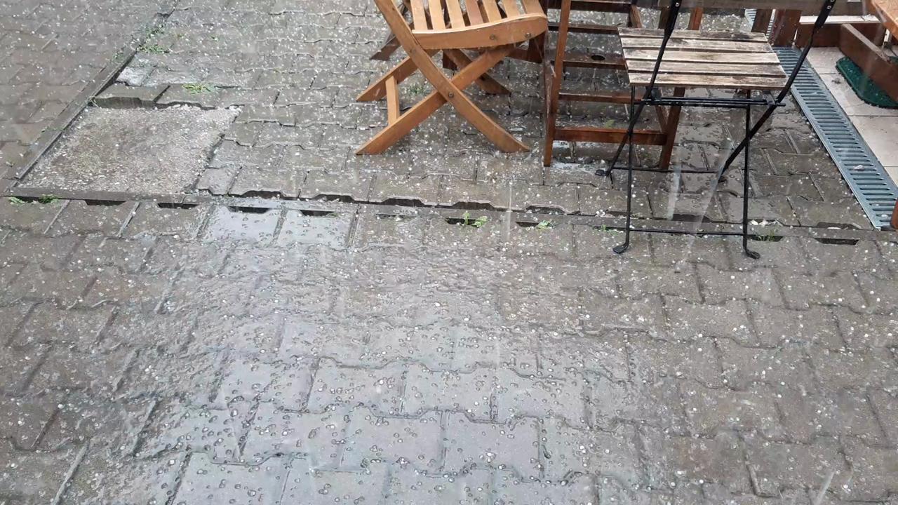 Silná búrka v Bratislave