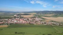 Tatry, pohľad zo Spišského hradu